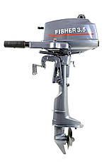 Лодочный мотор Fisher T3.5BMS + чехол в подарок!, фото 2