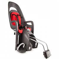 Детское велокресло HAMAX CARESS серо/серое красное