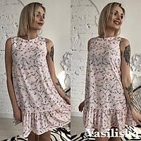 Женское стильное платье (мод. Б419), фото 1