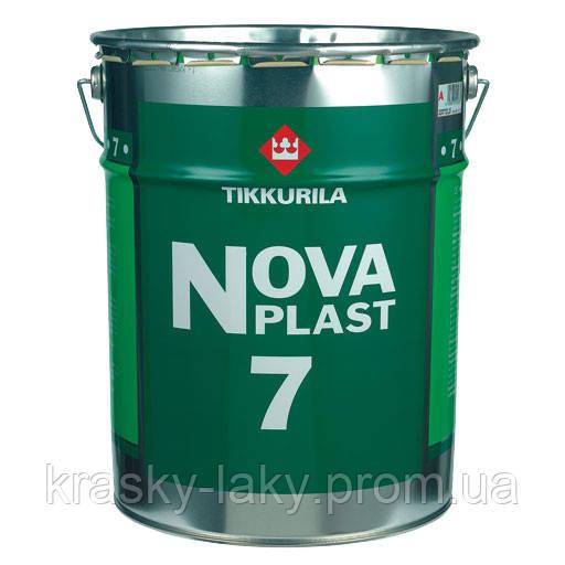 Краска для стен Новапласт 7 С Тиккурила Tikkurila, 18л