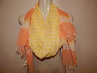 Палантин - шарф фирменный женский легкий BSB JEANS 005ш