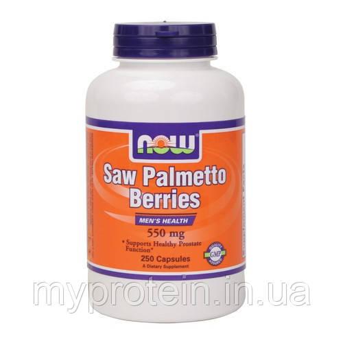 NOW Потенция Saw Palmetto Berries 550 mg 250 caps