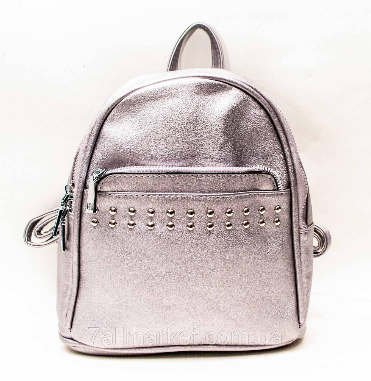 38ac1a04c93e Рюкзак женский стильный, экокожа, р. 20*23 см (4 цв.)