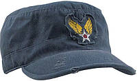Кепка винтажная Ultra Force™ Vintage Fatigue Cap - Navy Blue w/ Strategic Air Command
