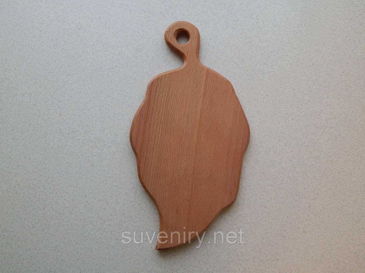 Кухонная доска лепесток 25*15