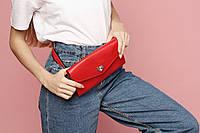 VM-Villomi Женская поясная сумочка красного цвета