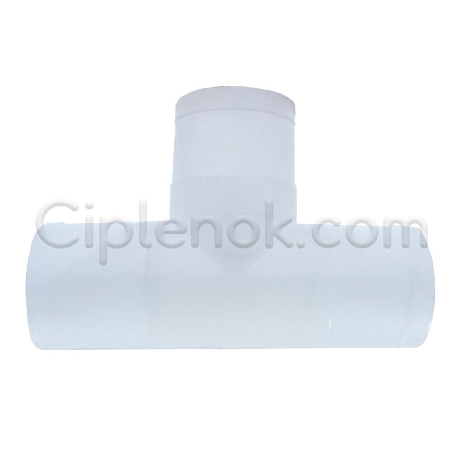 Тройник на круглую трубу 25 мм