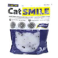 Силикагелевый наполнитель Cat Smile (Кет Смайл) с Морским ароматом 3.6л (1,8кг)