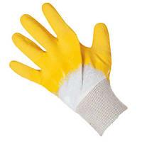 Перчатки стекольщика с латексным покрытием