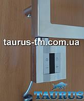 Квадратный ТЭН KTX4: экран +регулятор +таймер, под настенный датчик. Хром. Польша