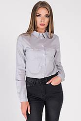 Рубашка BK-7661-4 (XS, Серый) XS
