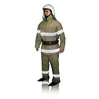 """Костюм специальный защитный для пожарного спасателя """"Феникс"""" из брезента"""