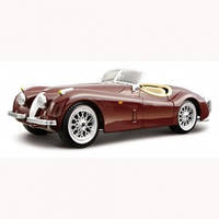 Авто-конструктор - JAGUAR XK 120 ROADSTER (1948) 1:24