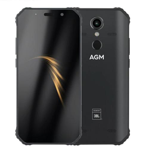 "Захищений протиударний невмирущий смартфон AGM A9 - IP68, 5,99"" IPS, JBL-звук, 4/32G, NFC,5400 mAh"