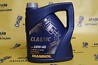 Масло моторное полусинтетика MANNOL Classic10W40 SL/CF