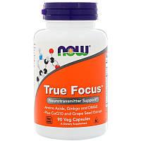 NOW Норэпинефрин и дофамин True Focus 90 veg caps