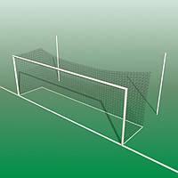Сетка футбольная SPORTNET Стандарт 2,1 (2,6х7,6х1,5х1,5)