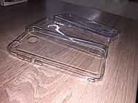 Прозрачный силиконовый чехол Meizu M6S