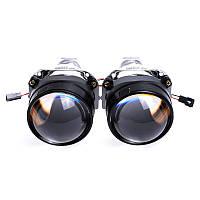 "Биксеноновые линзы с масками SIGMA G5 mini H1 Super 2.5"""