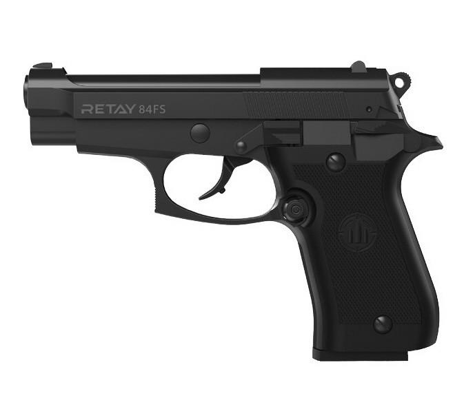 Сигнальний пістолет, стартовий Retay Beretta M 84FS Cheetah (9.0 мм), чорний