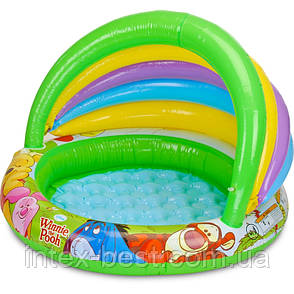 """Надувной детский бассейн """"Винни Пух"""" Intex 57424, фото 2"""