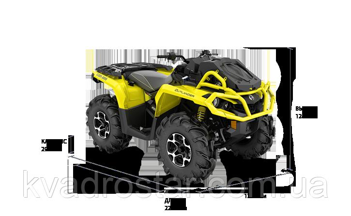 Квадроцикл BRP CAN-AM OUTLANDER 650 XMR (2019 року)