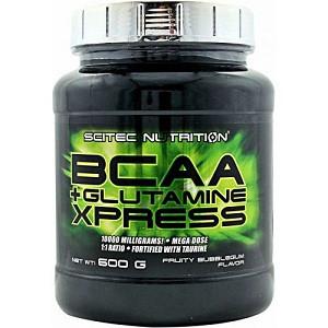 Аминокислоты (БЦАА) Scitec Nutrion BCAA+Glutamine Xpress (600 грамм.)
