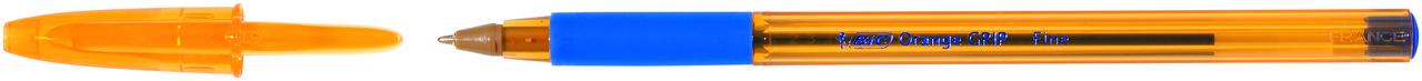 Ручка Оранж Грип синяя, тонкая линия, УП20