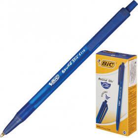 Ручка Раунд Стік Клік синя,середня лінія, УП20 - НОВИНКА!