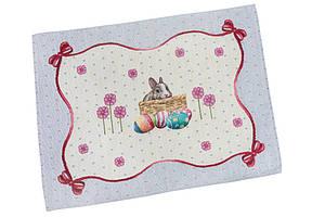 Пасхальная салфетка на стол гобеленовая LiMaSo 37*49 см RUNNER647