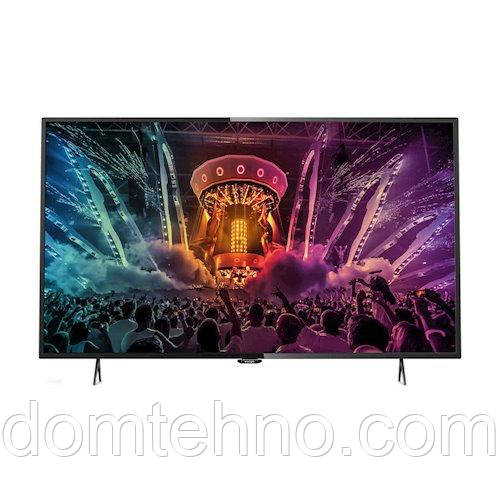 Телевизор Philips 43PUS6101 (PPI 800Гц, Ultra HD, Smart, Wi-Fi, DVB-S2)