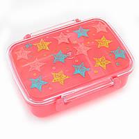 """Контейнер для еды """"Stars"""", 420 мл, с разделителем, фото 1"""