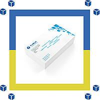 Печать на конвертах формата С6 4+0 (цветные односторонние)