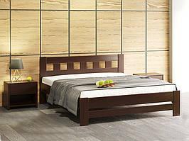 Ліжко деревяне Сакура від Camelia (темний горіх) 160*200
