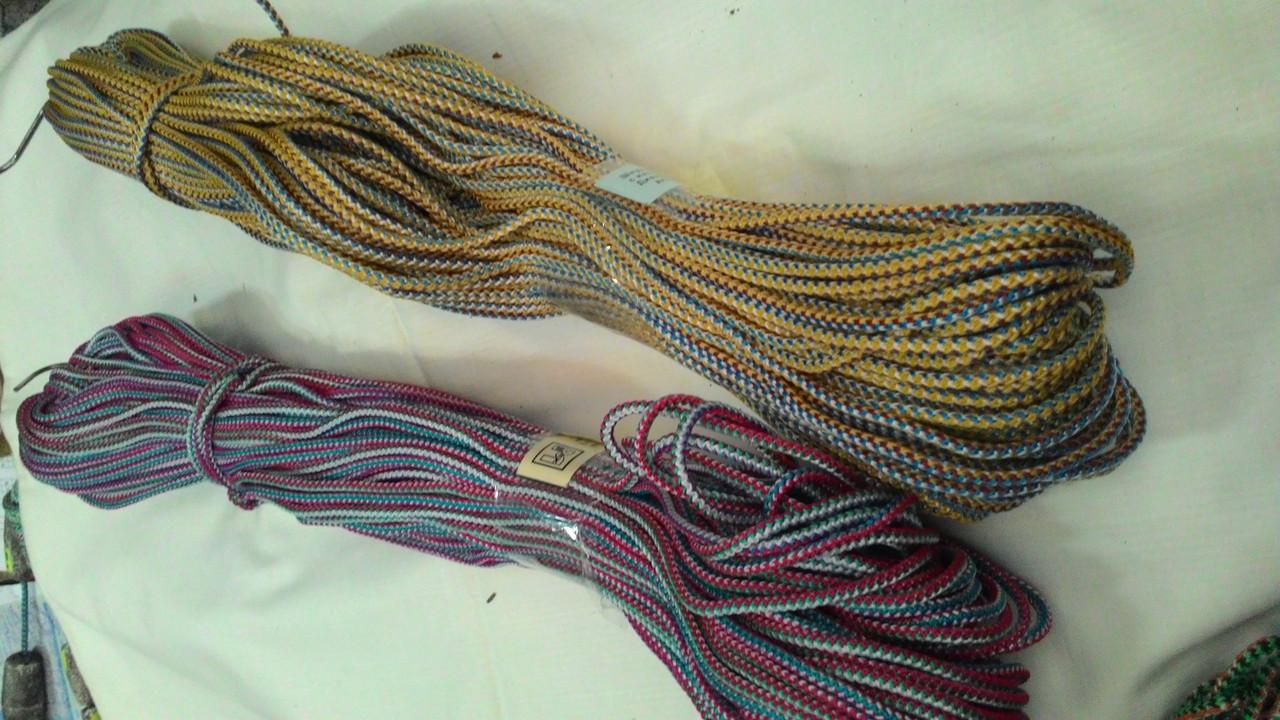 Шнур посадочный 100м плетеный диаметр 30мм (с полипропиленом)