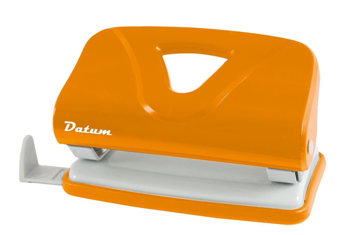 Дырокол 10л пласт. D1219-11 оранжевый