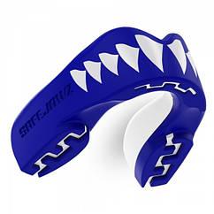 Капа боксерская SAFEJAWZ Shark Синяя