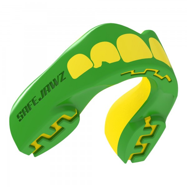 Капа боксерская SAFEJAWZ Ogre Зеленая