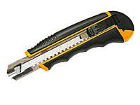 Нож трафаретн. 18мм, 6 зап.лезв., в блистере L2500