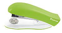 Степлер №24/6, 26/6 20л пласт. D2023-08 зеленый
