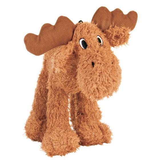 Trixie TX-35751 лось с пищалкой - игрушка  для собак мелких пород 15 см