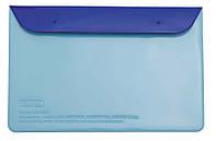 Органайзер для документов 180х270мм на кнопках L6123 гол/син.