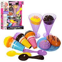 Игровой набор продукты мороженное на липучке, сладости, 6687-2