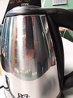 Электрочайник Domotec DT 802. Германия. Дисковый. 2 литра. Нержавейка