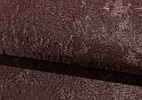 Римская штора Велюр Люкс шоколадный коричневый. Бесплатная доставка, фото 2