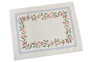 Пасхальная салфетка на стол гобеленовая LiMaSo 37*49 см RUNNER655