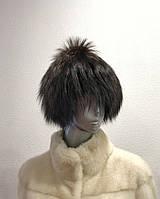 Шапка женская из  чернобурки, фото 1