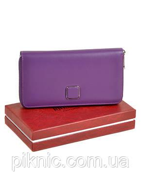 66f95119aaba Женский кожаный кошелек на молнии, клатч, портмоне Bretton из натуральной  кожи., фото