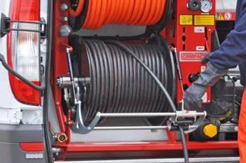 """Шланг для прочищення каналізації високим тиском, тип """"Комерційний"""" зі сталевої опліткою"""