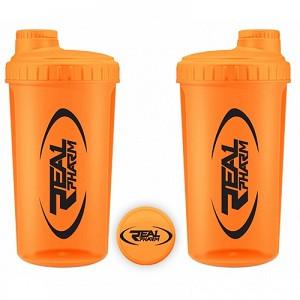 Шейкер Real Pharm Shaker Neon Orange (700 мл.)(оранжевый)